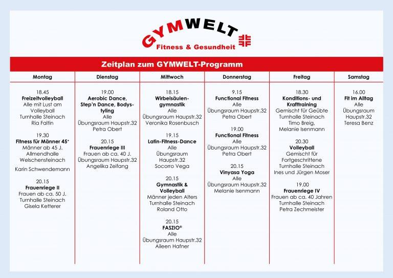 TV Steinach - Gymwelt