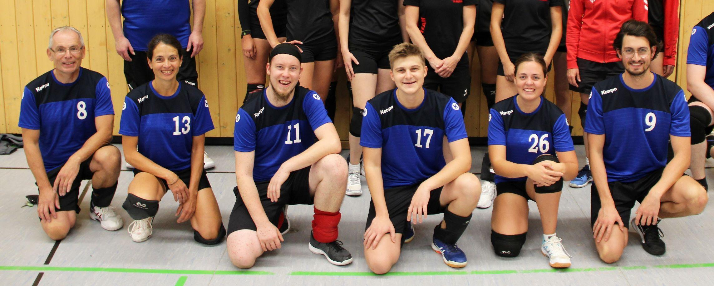 Read more about the article Freundschaftsspiel zur Vorbereitung auf Volleyball-Rundenstarts